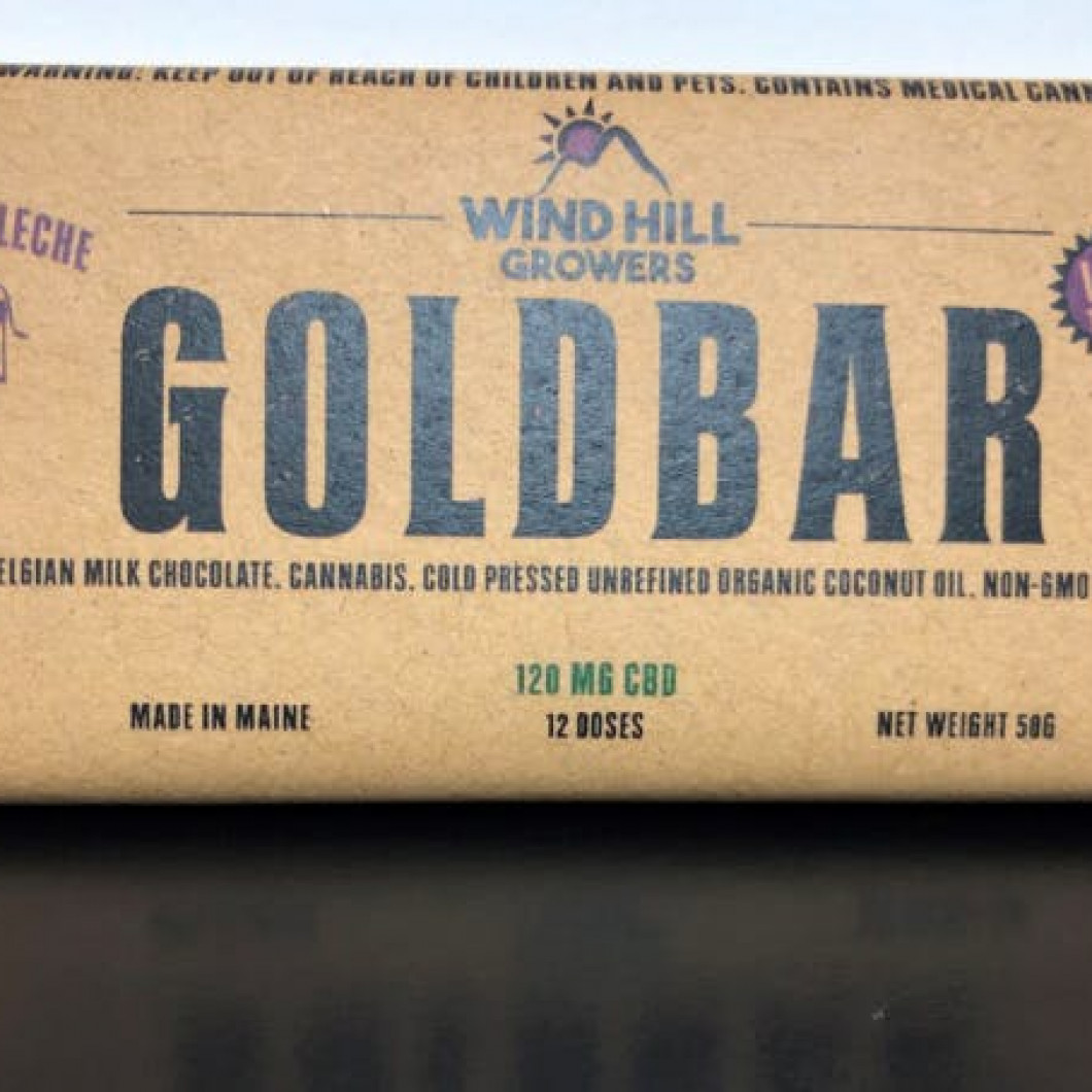 CBD Milk Chocolate Bar - 120mg