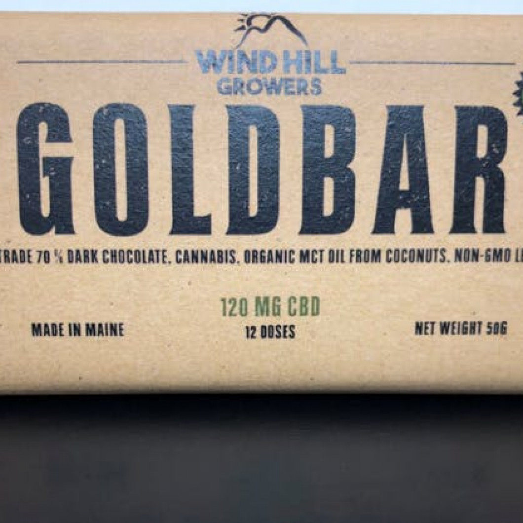 CBD Dark Chocolate Bar - 120mg