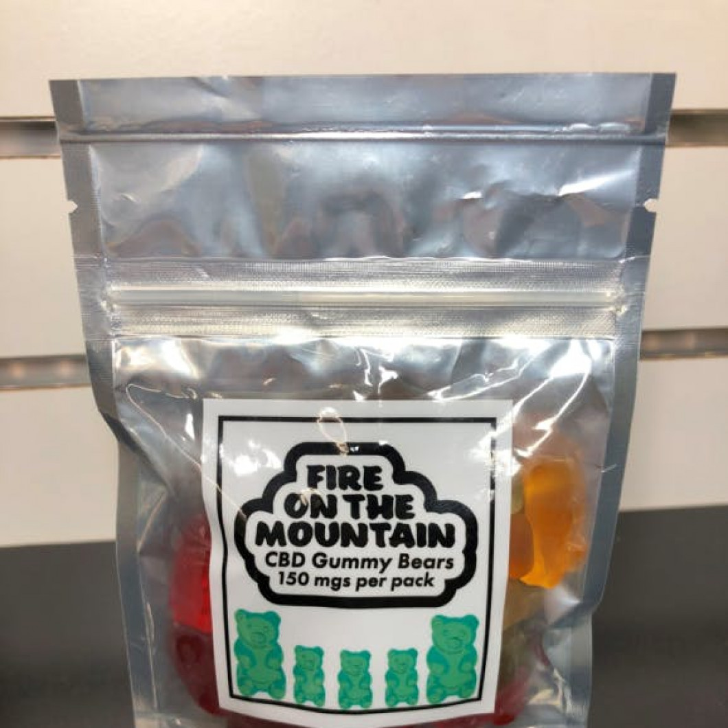 Fire On The Mountain CBD Gummies - 150mg