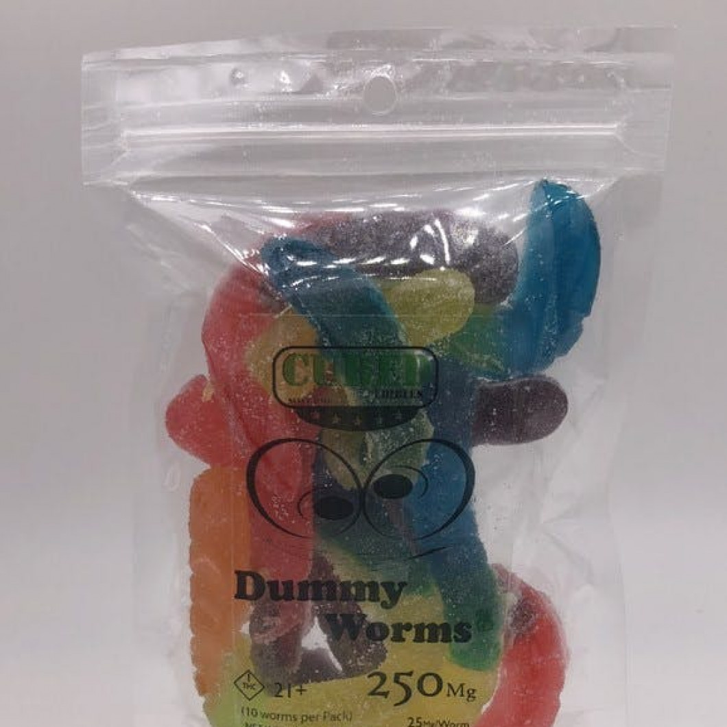 Dummy Worms - 250mg